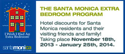 Santa Monica Hotels Holidays Extra Bedroom Discounts
