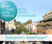 Downtown Santa Monica logo. Link: http://www.downtownsm.com