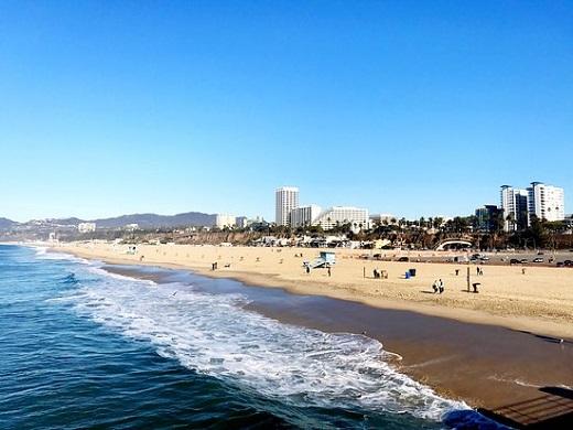 Santa Monica Beach Makes Tripadvisor S Top Ten U Beaches