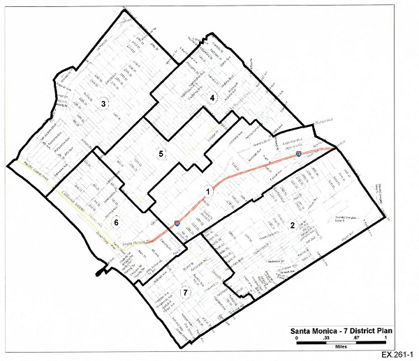 Proposed Santa Monica Council Map Places Three Incumbents in ...