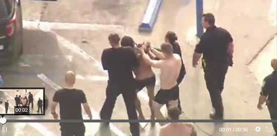 Arrest at Pier